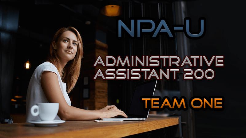 Admin Assistant 200