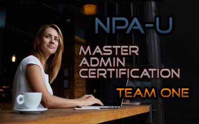 Master Admin Certification